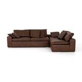 Steinway Right Hand Facing 2 Piece Sectional by Williston Forge