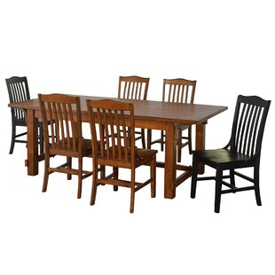 Fincher 7 Piece Dining Set by August Grove