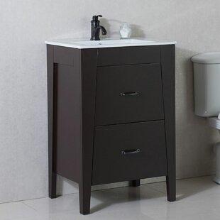 Compare prices 24 Single Bathroom Vanity Set ByBellaterra Home