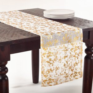 Foil Print Table Runner