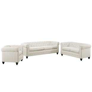 Modway Earl 3 Piece Living Room Set