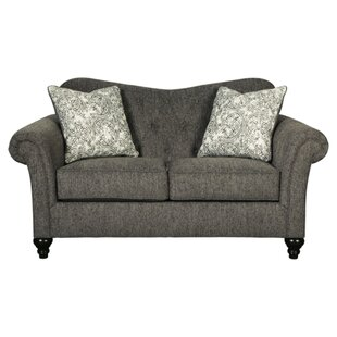 Canaday Loveseat by House of Hampton Great price