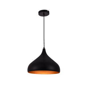 Circa 1-Light Inverted Pendant by Living District