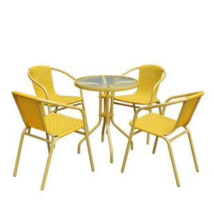 Celandine 5 Piece Dining Set by Turn on t..