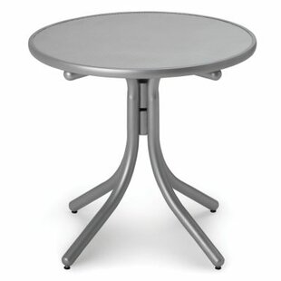 Searching for Embossed Aluminum 30 inch  Round Bar Table Great buy