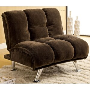 A&J Homes Studio Lauren Tufted Convertible Chair Image