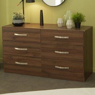 Brayden Studio Caley 6 Drawer Double Dresser