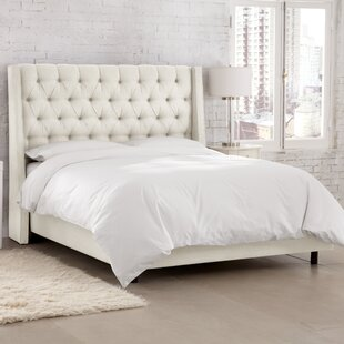 Astaire Upholstered Panel Bed by Skyline Furniture