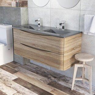 Harleigh 1200mm Free-Standing Vanity Unit By Ebern Designs