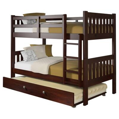 Viv Rae Amani Full Over Full Bunk Bed With Trundle Reviews Wayfair