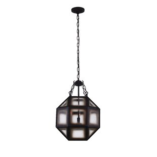 Dvina 3-Light LED Chandelier by CWI Lighting