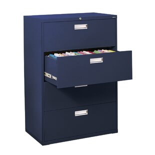 600 Series 4 Drawer Lateral Filing Cabinet