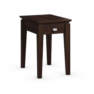 Caravel Windward Chairside Table with Power Station