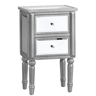 Beachmere 2 Drawer Nightstand