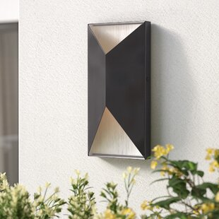 Brayden Studio Goldschmidt 2-Light Outdoor Sconce