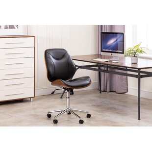 Mcelyea Armless Swivel Task Chair