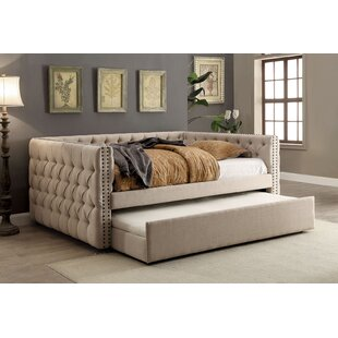 Great Price Lohmann Daybed with Trundle by Rosdorf Park Reviews (2019) & Buyer's Guide