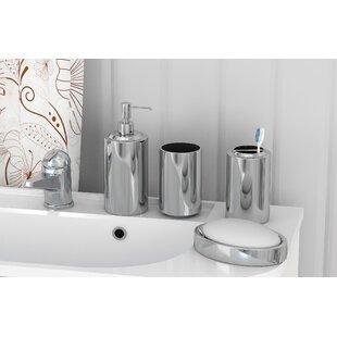 Mercury Row Mcnelly 4 Piece Bathroom Accessory Set