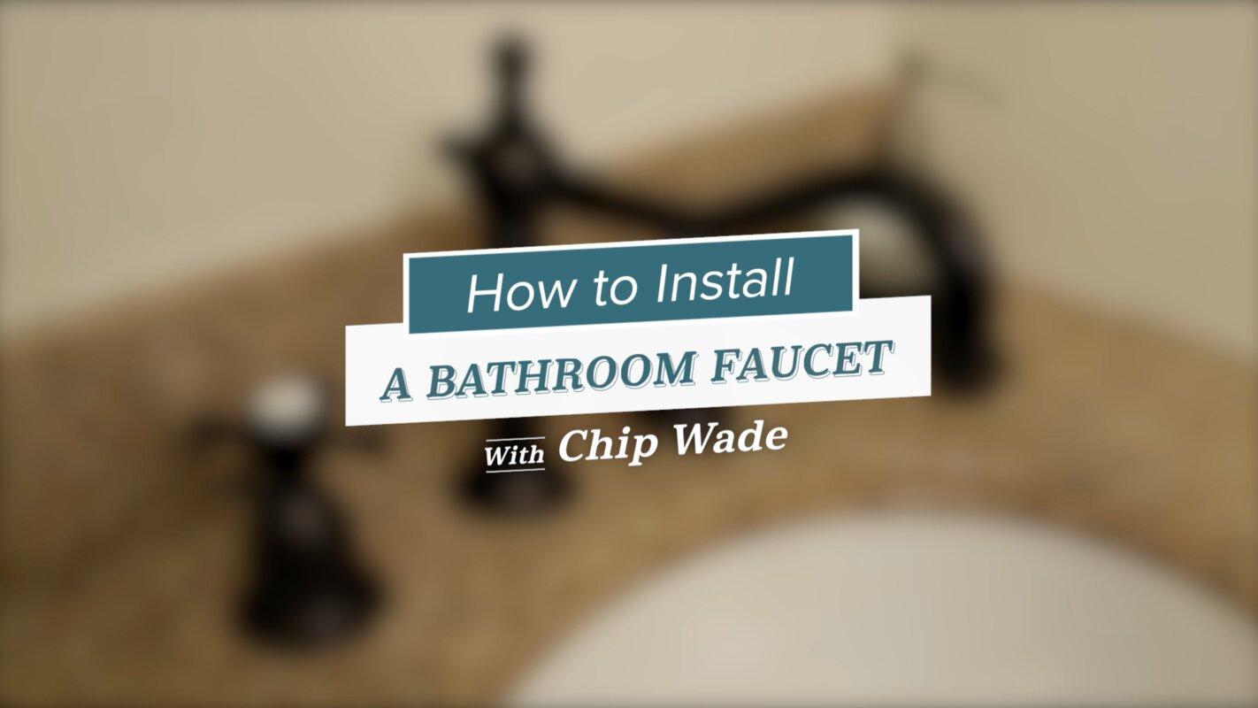 Centerset Bathroom Sink Faucet with Double Knob Handles