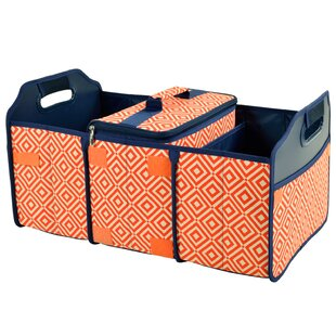 Picnic at Ascot Diamond Trunk Organizer Cooler