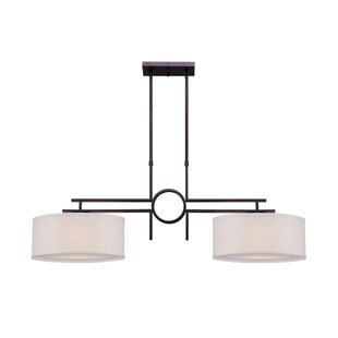 Latitude Run Burleigh 2-Light Kitchen Island Pendant