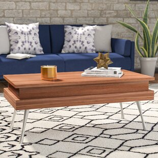 Cornelia Lift Top Coffee Table With Storage Wade Logan