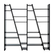 Delta Composition New 2010-004 77 Accent Shelves Bookcase by Tema