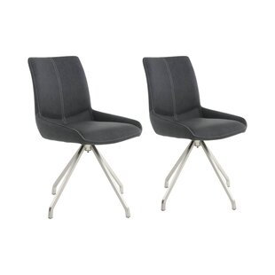 Spindle Upholstered Dining Chair (Set Of 2)