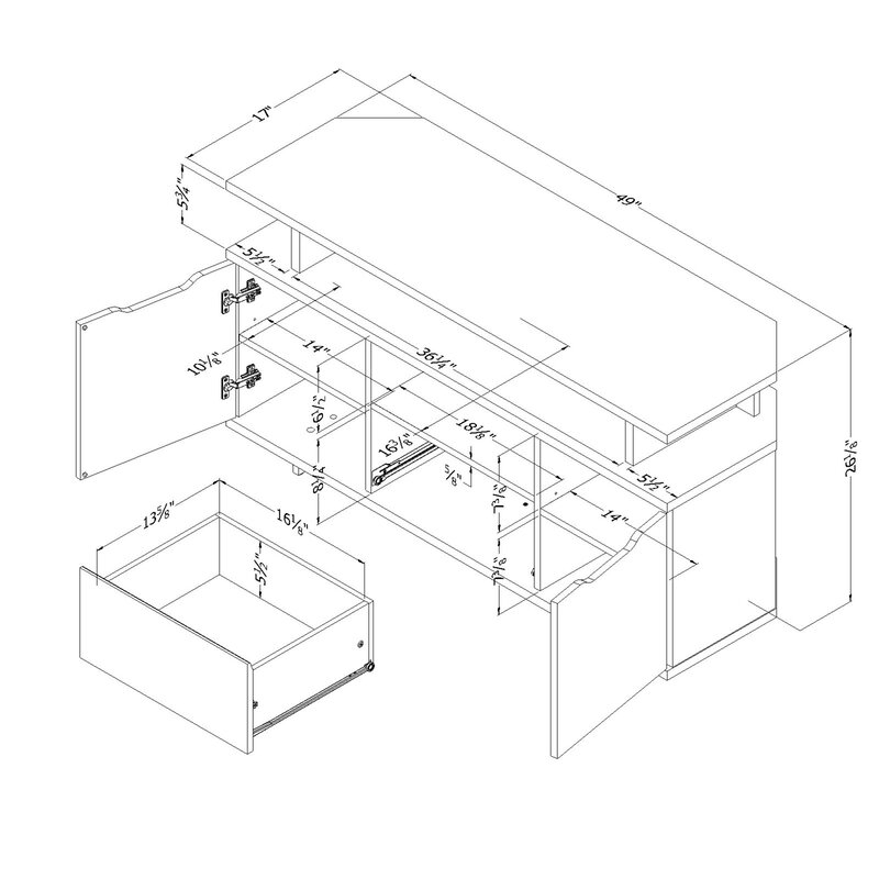 Compact Shelf Stereo System