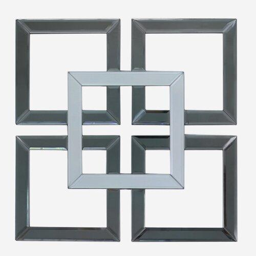 Wanddekoration Geometric World Menagerie Farbe/Ausführung: Rauchgrau   Dekoration > Wandtattoos > Wanddekoration   World Menagerie