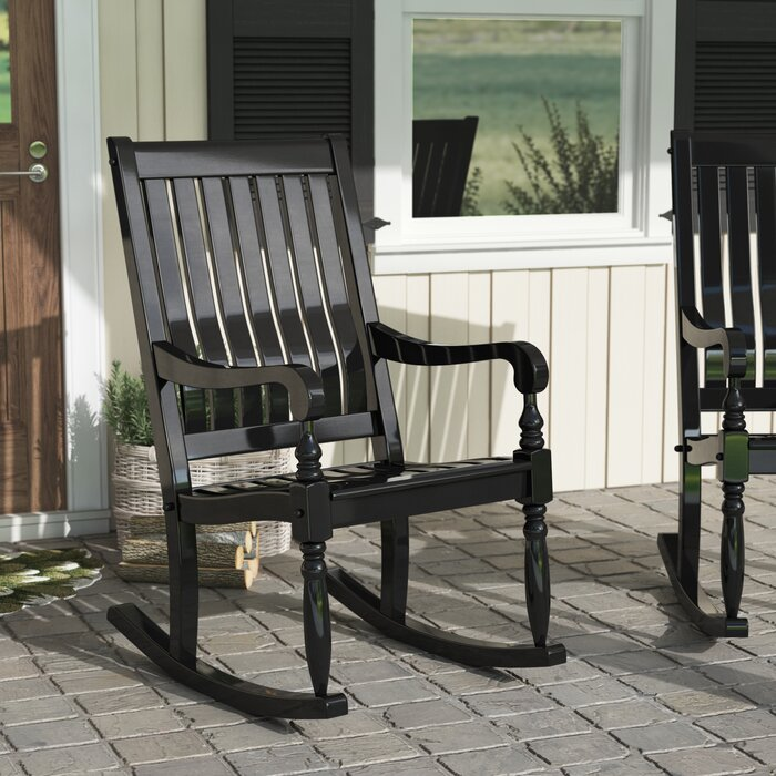Enjoyable Oisin Oversized Porch Rocking Chair Bralicious Painted Fabric Chair Ideas Braliciousco