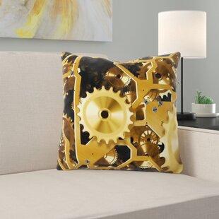 Clock Throw Pillows Wayfair