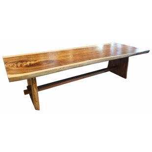 Efren Live Edge Slab Dining Table Millwood Pines