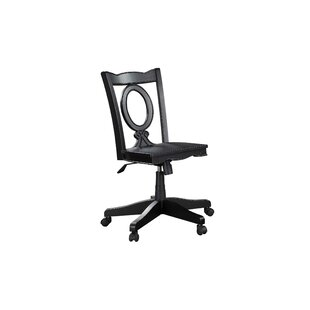 Merveilleux Stroupe Keyhole Mid Back Bankers Chair