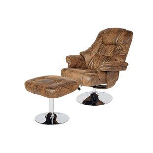 Chantell Swivel Lounge Chair and Ottoman by Orren Ellis