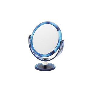 Danielle Creations Round Tortoise Vanity Mirror