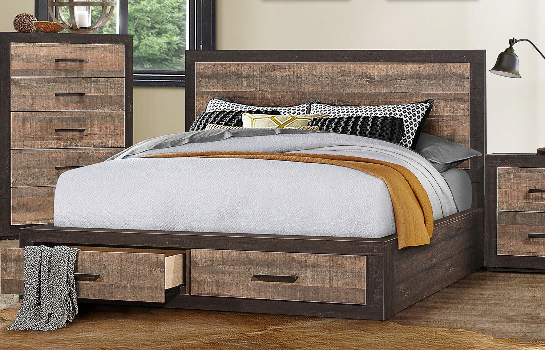 Slade Queen Storage Platform Bed