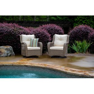 Dawn Patio Chair with Cushions (Set of 2)