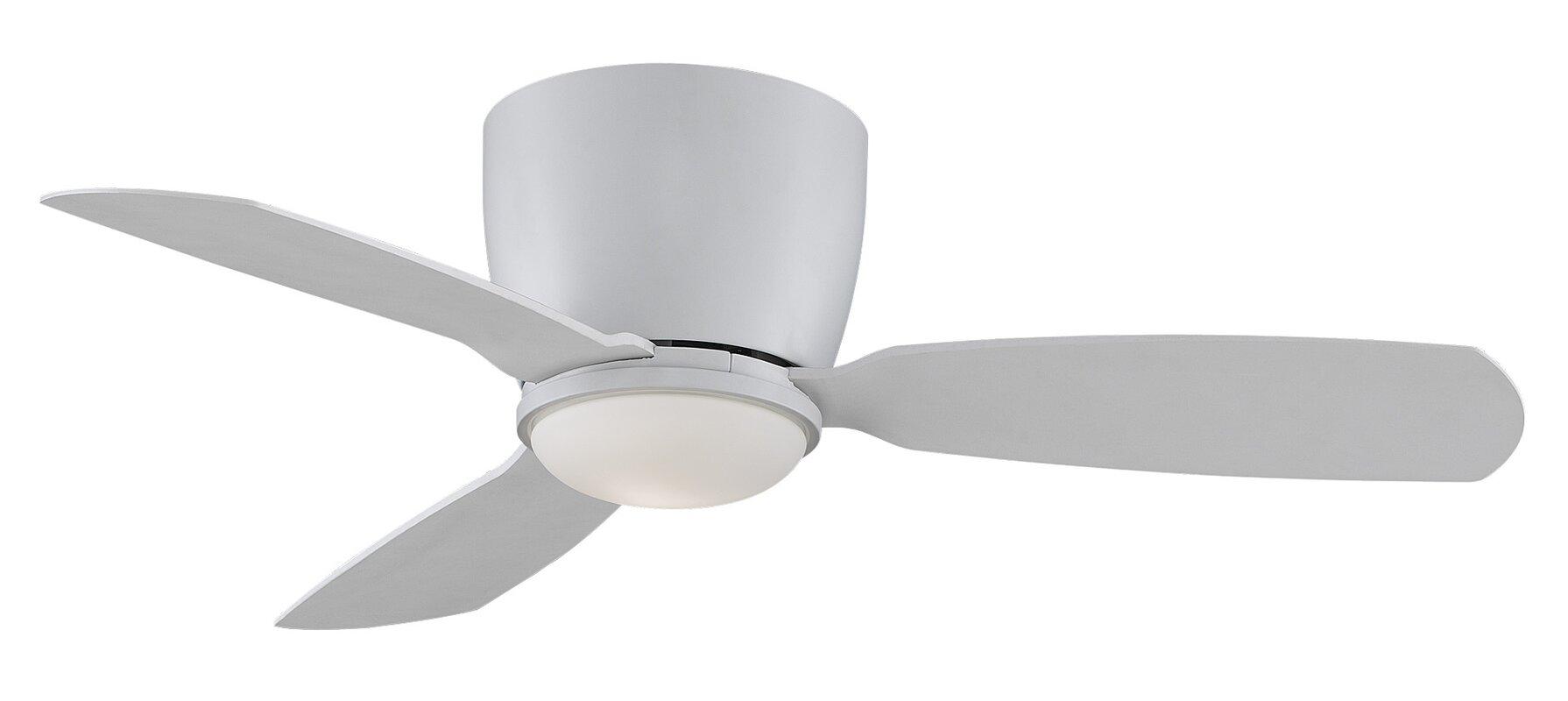 modern ceiling fan white. 44\ modern ceiling fan white