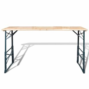 Atmore Folding Metal Bar Table By Sol 72 Outdoor