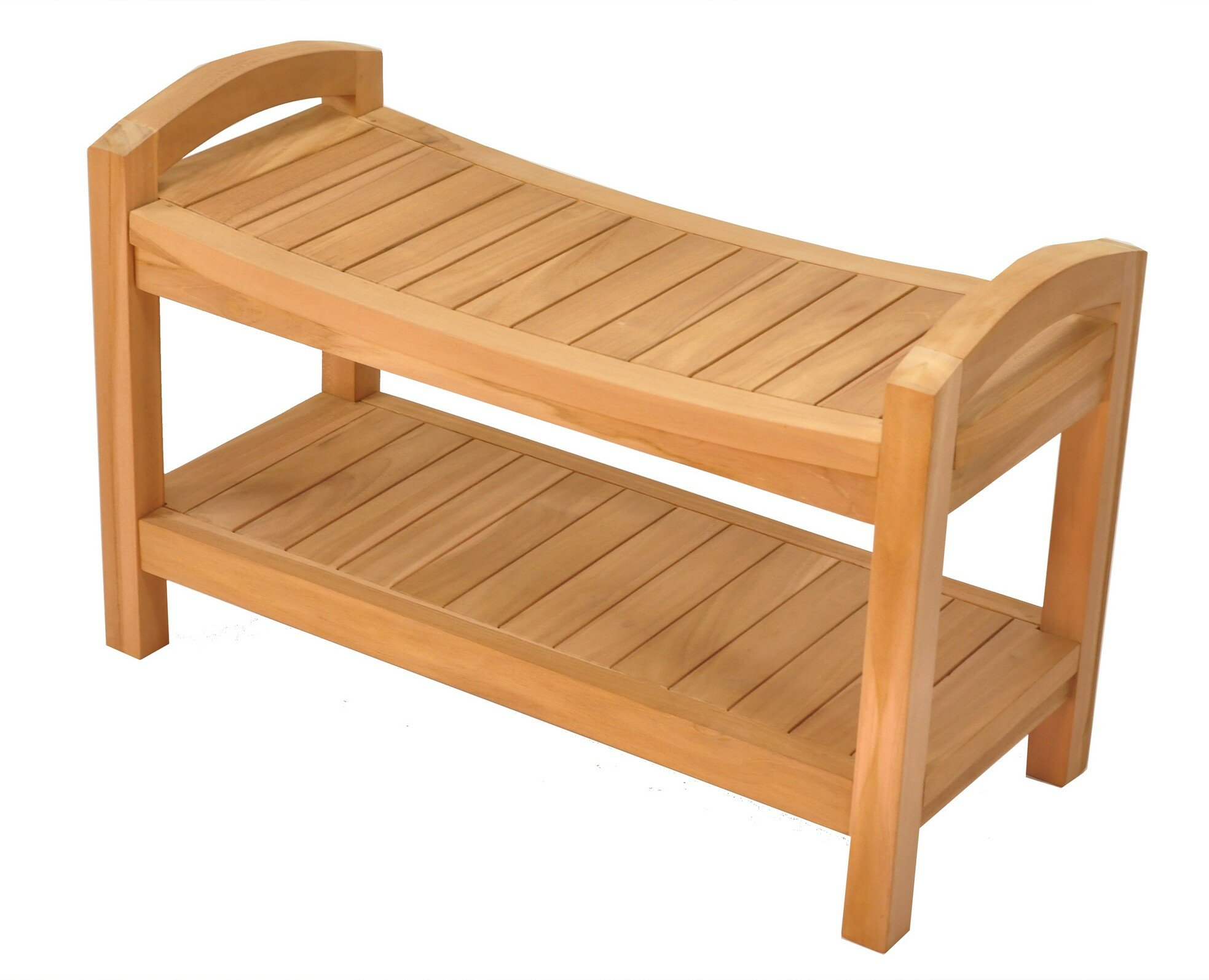 Incredible Whitlock Grade A Teak Wood Shower Bench Lamtechconsult Wood Chair Design Ideas Lamtechconsultcom