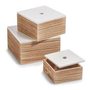 3 tlg. Aufbewahrungsbox-Set Grimstad von Zeller Present