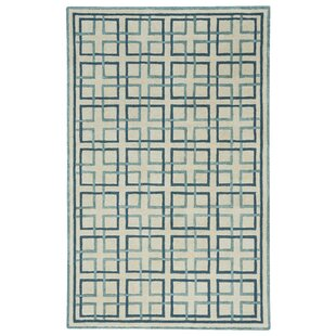 Wieland Framework Hand-Tufted Beige Area Rug by Breakwater Bay