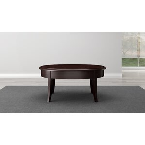 Transitional Coffee Tables transitional style coffee table | wayfair