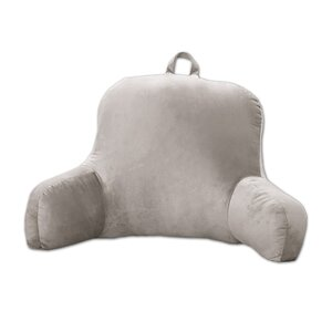 Saulsbury Plush Bed Rest Pillow