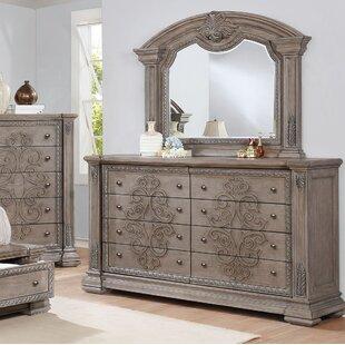 Braddy Dresser with Mirror by Astoria Grand