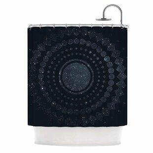 'Lunar Confetti' Single Shower Curtain