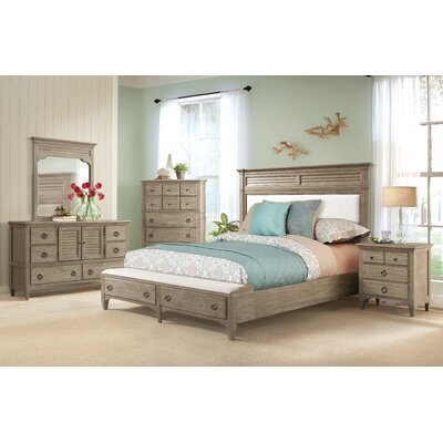 Manhart Platform 6 Piece Bedroom Set by Gracie Oaks