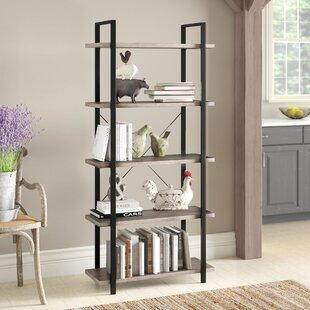 Gracie Oaks Dunluce Etagere Bookcase
