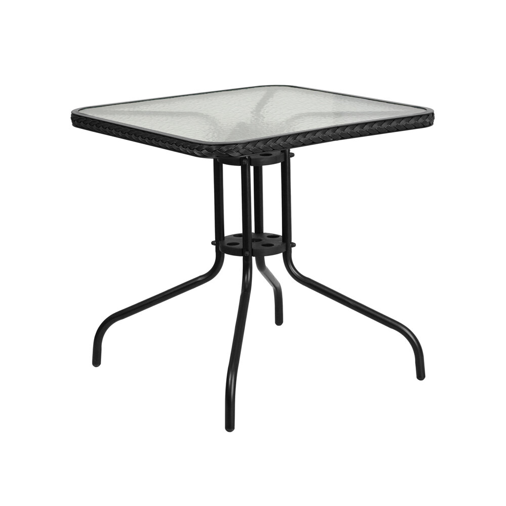 Winston Porter Rafferty Metal Bar Table Wayfair